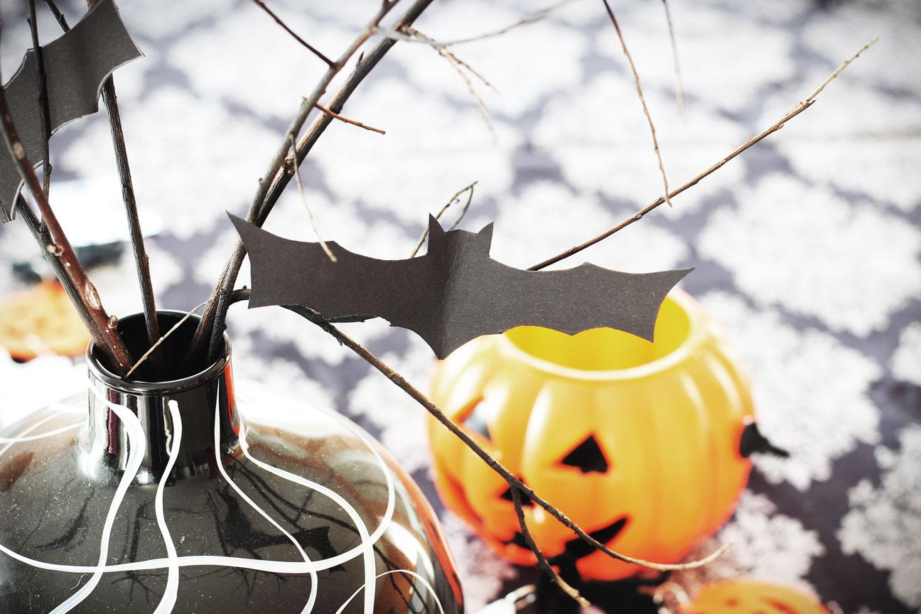 Bake therapy come decorare la tavola per halloween diy for Decorare una stanza per halloween